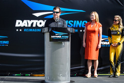 Daytona Rising event: Daytona International Speedway President Joie Chitwood