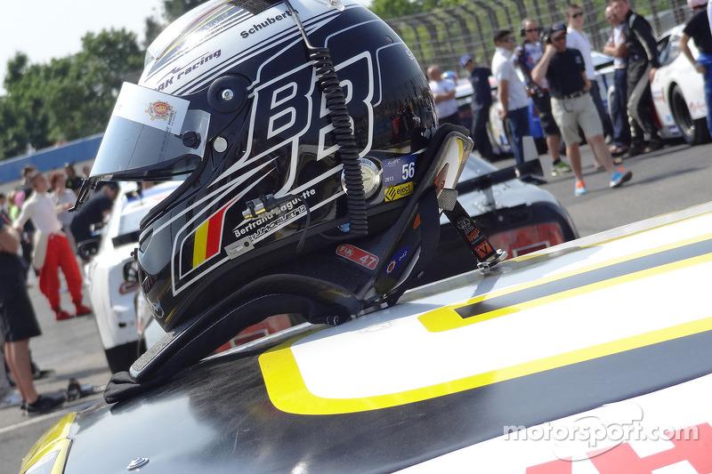 Bertrand Baguette's helm