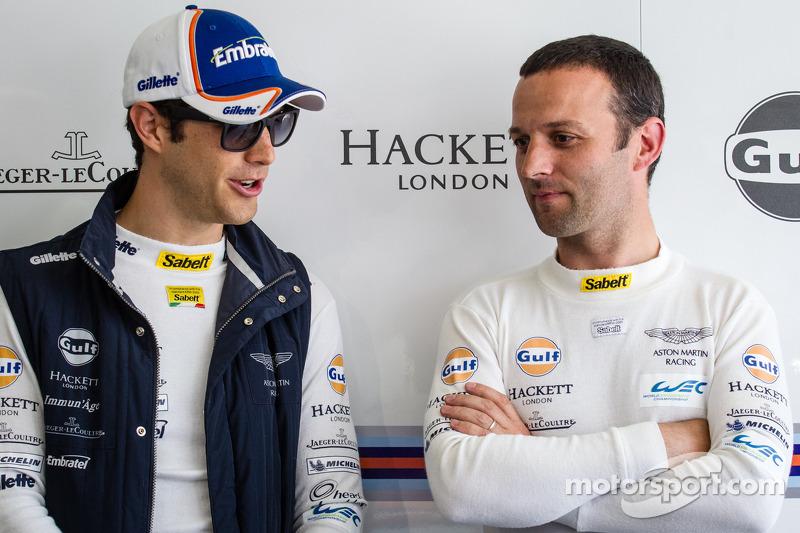 Bruno Senna en Darren Turner