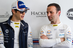 Bruno Senna and Darren Turner