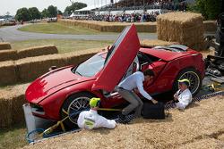 Guigaro Parcour crash