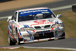 Ex Laurent Aiello BTCC championship winning 1999 Super Touring Nissan Primera driven by Derek Palmer