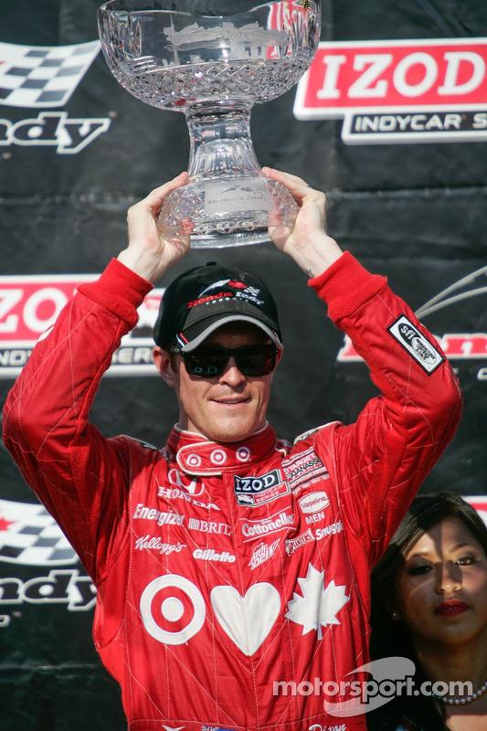 Scott Dixon, Target Chip Ganassi Racing Honda comemora