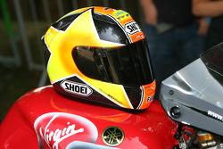 James Haydon's helmet