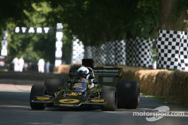 Andrew Beaumont, Lotus Cosworth 72E