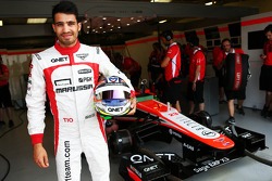 Tio Ellinas, Marussia F1 Team MR02 Test Driver