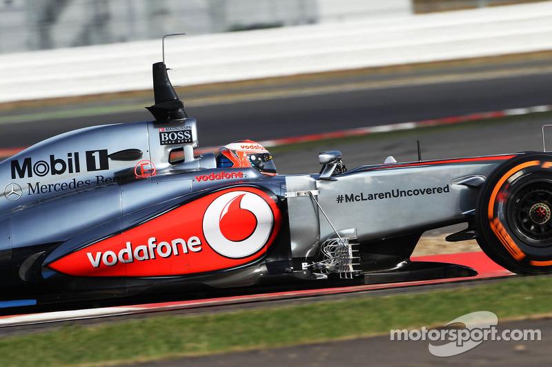 Kevin Magnussen, McLaren MP4-28 Test Driver