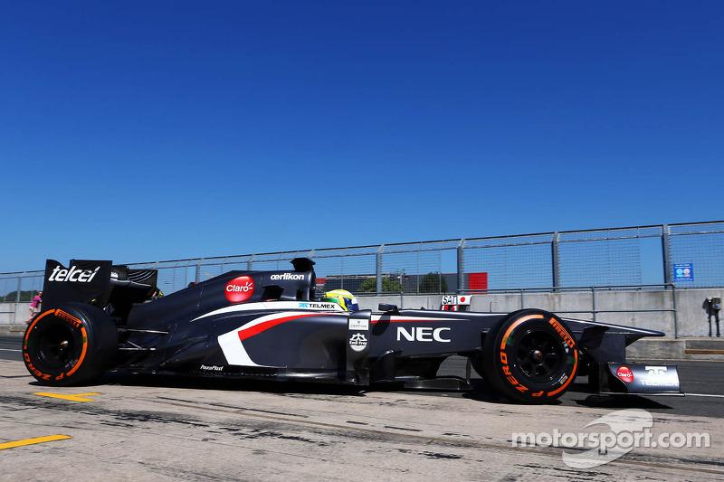 Kimiya Sato, Sauber C32 Test Driver