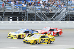 Regan Smith, Sam Hornish Jr., Justin Allgaier