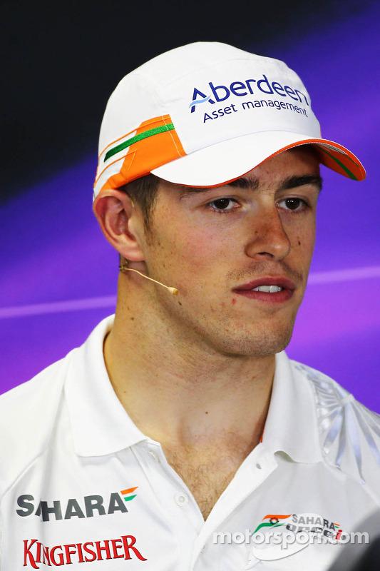 Paul di Resta, Sahara Force India F1 na coletiva da FIA