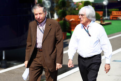 Jean Todt, Presidente de la FIA a Bernie Ecclestone, CEO de fórmula uno