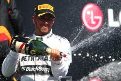 primeiro colocado: Lewis Hamilton, Mercedes AMG F1