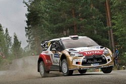 Kris Meeke e Chris Patterson, Citroën DS3 WRC, Citroën Total Abu Dhabi World Rally Team