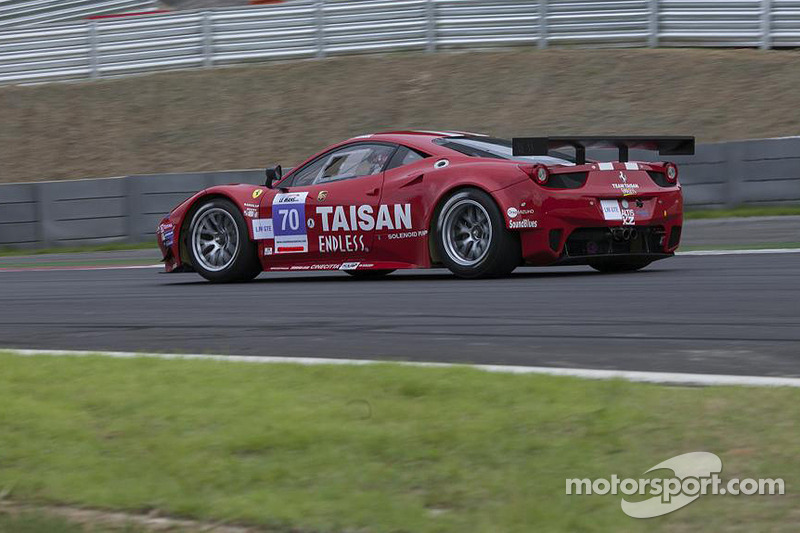 #70 Taisan Ken Endless Ferrari 458 GTE: Kamui Kobayashi, Naoki Yokomizo