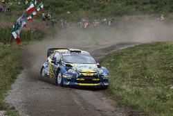 Per-Gunnar Andersson e Anders Fredriksson, Ford Fiesta WRC