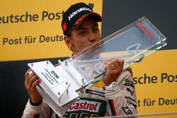 Podium, Augusto Farfus, BMW Team RBM BMW M3 DTM