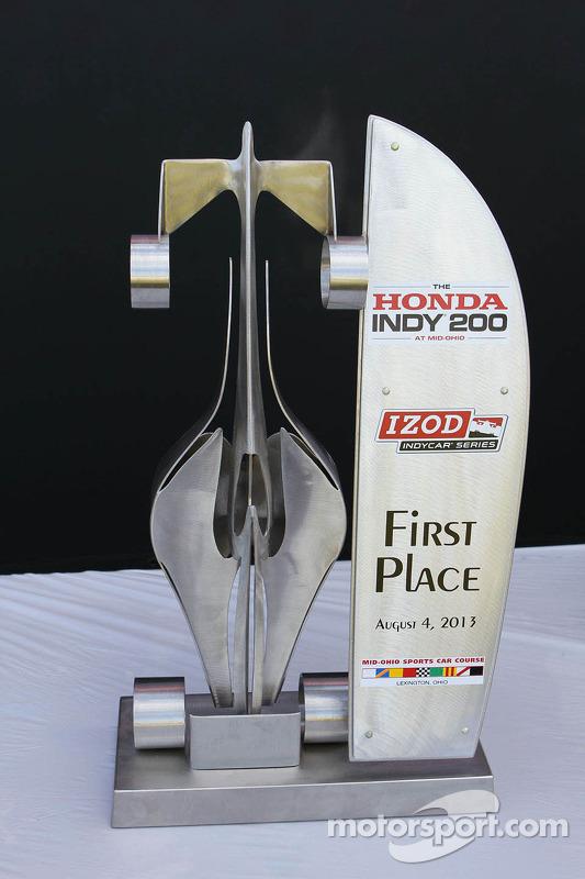 Troféu de primeiro colocado