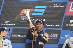 National podium: winner Sun Zheng