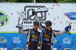 GT winners #91 SRT Motorsports Viper: Dominik Farnbacher, Marc Goossens
