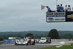 #6 Muscle Milk Pickett Racing HPD ARX-03a Honda: Lucas Luhr, Klaus Graf take the win