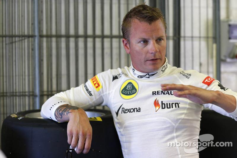 Kimi Raikkonen tests the GP3-13