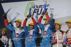 LMP2 podium: winners Julien Canal, Nicolas Prost, Bruno Senna, Vaillante Rebellion