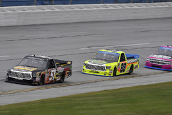 Myatt Snider, Kyle Busch Motorsports Toyota and Matt Crafton, ThorSport Racing Toyota