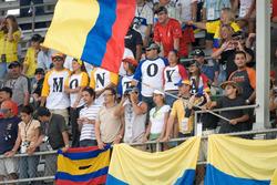 Fans of Juan Pablo Montoya, McLaren