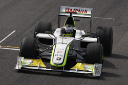 Jenson Button, Brawn GP BGP001 celebrate