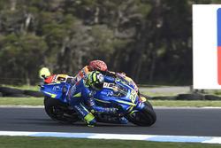 Андреа Янноне, Team Suzuki MotoGP, и Марк Маркес, Repsol Honda Team