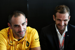 Tommaso Volpe, INFINITI Global Director of Motorsport and Cyril Abiteboul, Renault Sport F1 Managing Director at a Media Roundtable.