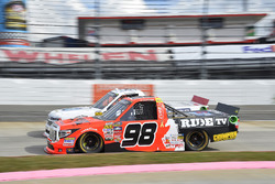 Grant Enfinger, ThorSport Racing Toyota, Patrick Emerling, Chevrolet