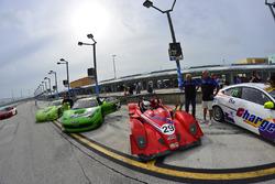 #29 FP1 Ligier JS51, Brian Fowler, Ligier USA, #458 MP1A Ferrari 458 GT3, Carlos Said, NGT Motorsports, #78 MP3A Mercedes C250, Walter Solalinde, Miami Premium Race,