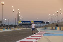Henrique Chaves, AVF fait le tour du circuit à pied