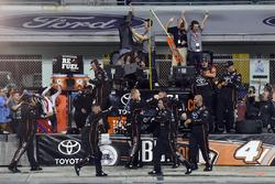 Kyle Busch Motorsports Toyota team members celebrate