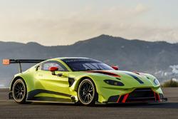 Aston Martin Vantage GTE tanıtım