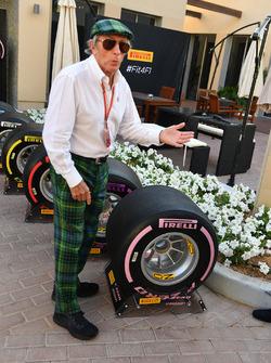 Jackie Stewart, 2018 Pirelli tyres