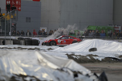 L'incidente di Gianmarco Quaresmini, Porsche 911 GT3 Cup, Dinamic Motorsport