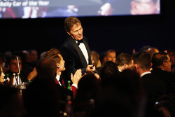 Malcolm Wilson receives the Rally Car of the Year Award