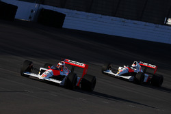 Stoffel Vandoorne, McLaren Honda MP4/4 and Jenson Button, McLaren Honda MP4/6