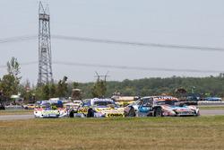 Christian Ledesma, Las Toscas Racing Chevrolet, Julian Santero, Dole Racing Torino, Alan Ruggiero, Laboritto Jrs Torino