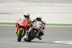 Jorge Lorenzo, Aprilia; Andrea Dovizioso, Honda