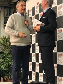 Claudio Cosa e Paolo Poli