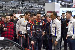 WRC drivers inclusief Hayden Paddon, Thierry Neuville, Sébastien Ogier en Elfyn Evans