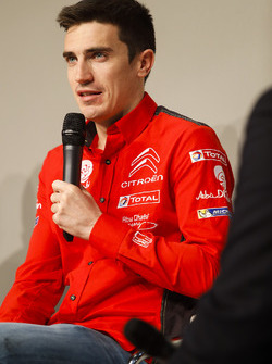 Craig Breen of Citroen talks to Henry Hope-Frost on the Autosport Stage