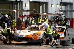 Pit stop, #8 Lambda Performance Ford GT Lambda: Nico Verdonck, Frank Kechele, Csaba Walter, Daniel Keilwitz