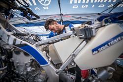 Mecánico de Yamaha Official Rally Team