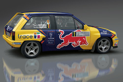 Thierry Neuville vintage Opel Corsa