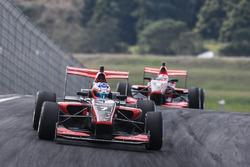 Richard Verschoor leads Marcus Armstrong