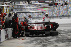 #38 Performance Tech Motorsports ORECA LMP2, P: James French, Kyle Masson, Joel Miller, Pato O'Ward, pitstop